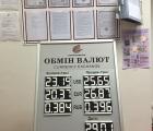Изготовление Штендер обмен валют для банка, переворотные сегмент-цифры