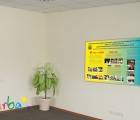 Информационный стенд с фото