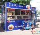 gril dog