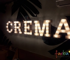 объемные буквы для кофейни