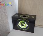 Полноцветная печать для коробочек утилизации батареек