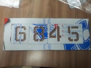 Трафарет, изготовление многоразовых трафаретов Киев